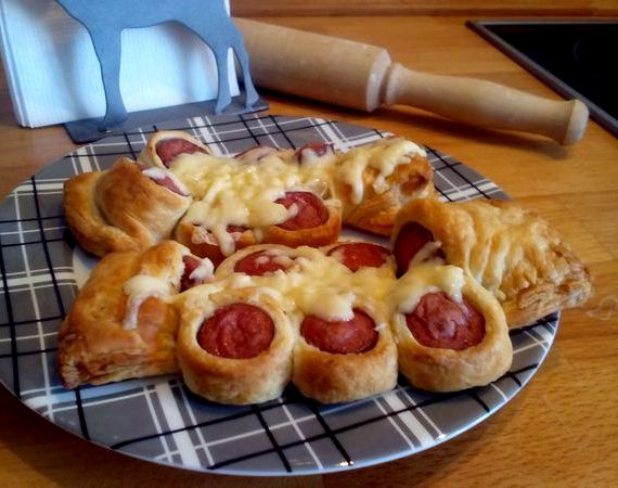 Сосиски в духовке рецепт с фото