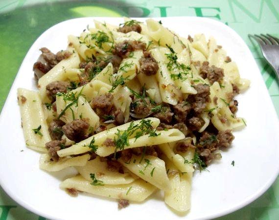 Спагетти по флотски рецепт с фаршем