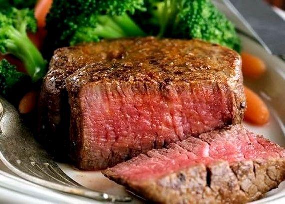 Стейк из говядины на сковороде рецепт с фото
