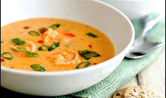 Суп из креветок рецепт с фото очень вкусный