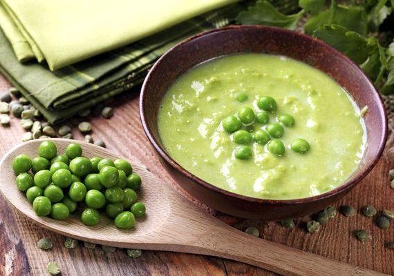 Суп из зеленого горошка консервированного рецепт