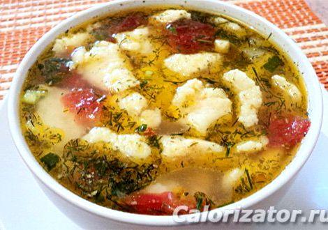 Суп с галушками пошаговый рецепт с фото с курицей Жарим до полной готовности грибов