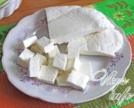 Сыр адыгейский рецепт приготовления в домашних условиях Например, заменив кефир