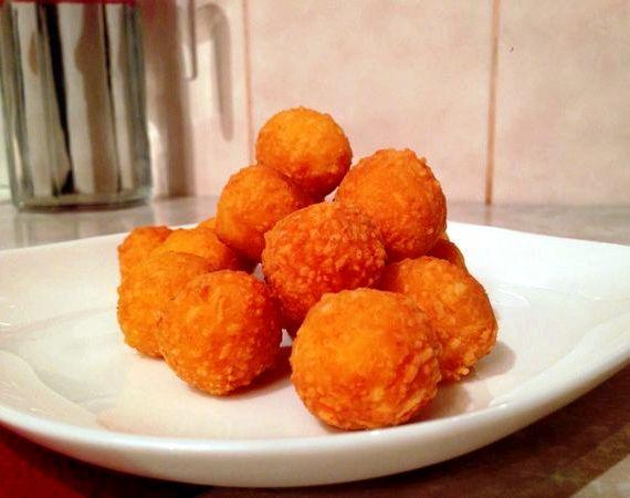 Сырные шарики рецепт с фото пошагово