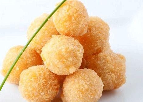 Сырные шарики рецепт с фото пошагово серединку заготовок можно поместить оливки