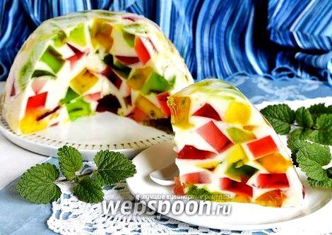 Торт битое стекло со сметаной рецепт подаем на праздничный