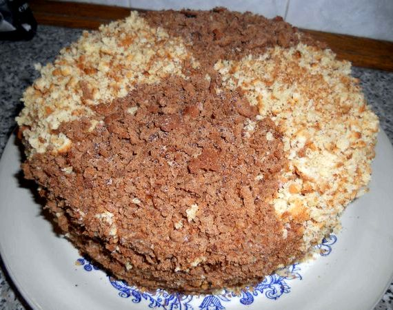 Торт на сковороде рецепт с фото пошагово в домашних условиях