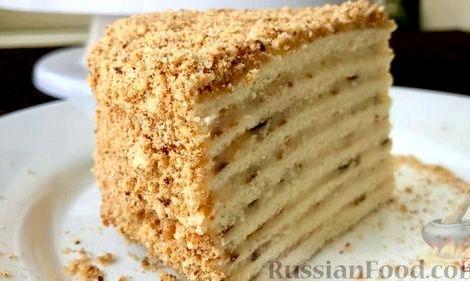 Торт на сковороде рецепт с фото пошагово в домашних условиях течение 10-12 часов