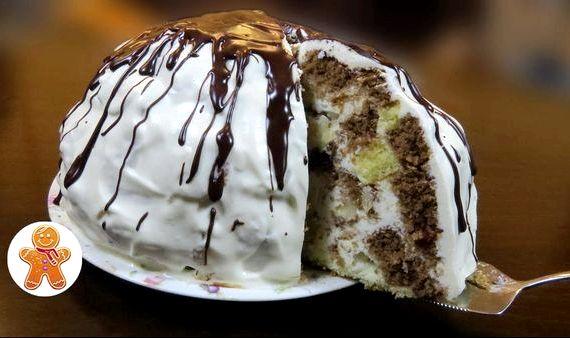 рецепт торт панчо с бананом рецепт с фото