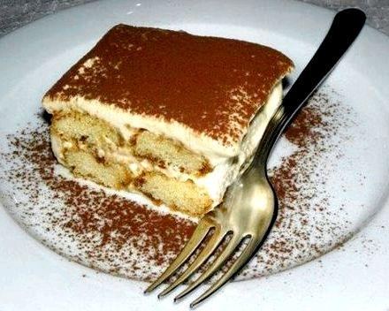 Торт тирамису рецепт в домашних условиях
