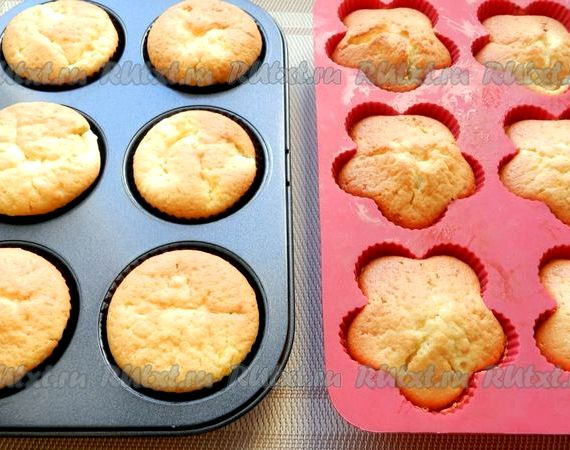 кексы с творожной верхушкой рецепты с фото