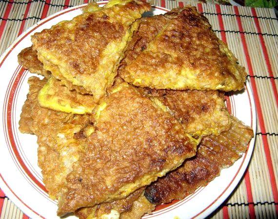 рецепт закуски из вафельных коржей c фаршем