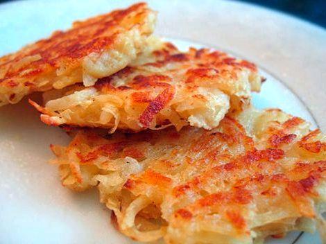 Вкусные драники из картошки рецепт подают его без