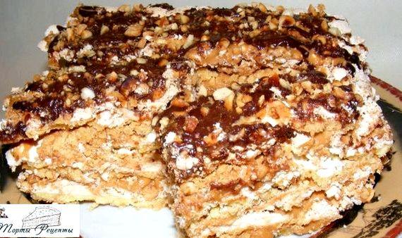 Воздушный сникерс торт рецепт с фото