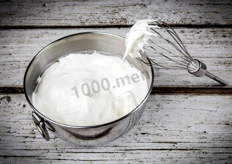 Взбитые сливки в домашних условиях рецепт для торта от мощности блендера