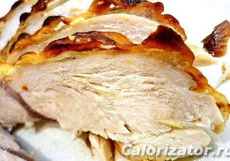 Запеченная куриная грудка в духовке рецепт Завершённый вид блюду