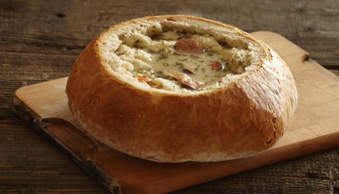 Суп вчерашнего дня - журек